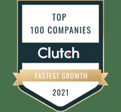 Clutch Top 100 Companies Fastest Growth