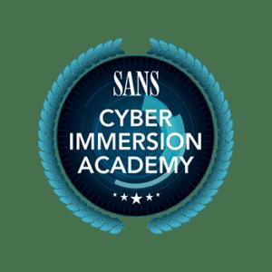 SANS CyberImmersion Academy